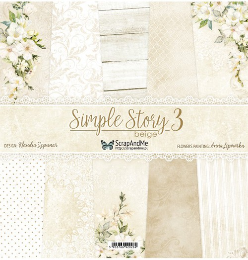 Набор бумаги 12х12 SimpleStory3 от ScrapAndMe