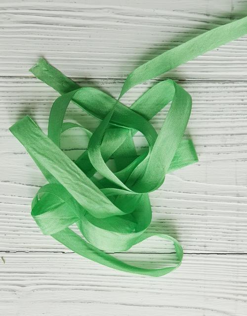 Шебби-ленты Весенне-Зеленый