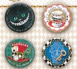 Набор украшений фишки коллекция Follow the Alice от Bee Shabby