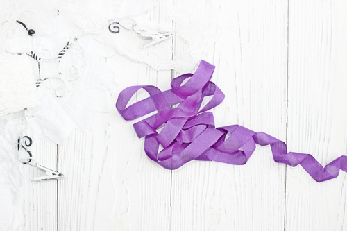 Шебби-ленты Фиолетовый
