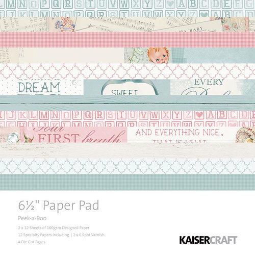 набор бумаги для скрапбукинга коллекция Kaisercraft-Peek-A-Boo Collection - 6.5 x 6.5