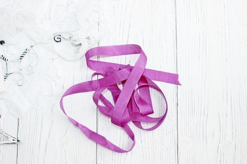 Шебби-ленты лиловый
