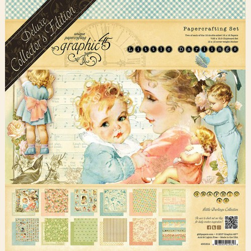 Набор бумаги Little Darlings - Deluxe Collector's Edition 12х12