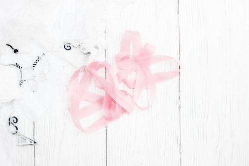 Шебби-ленты насыщенно-розовый