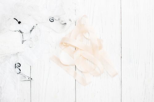 Шебби-ленты нежная роза