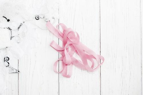 Шебби-ленты пыльная роза