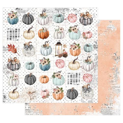 Prima Marketing-Pumpkin and Spice Collection. Fall for Fall. Бумага для скрапбукинга. арт 849627. Тыковки