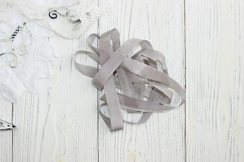 Шебби-ленты серый туман