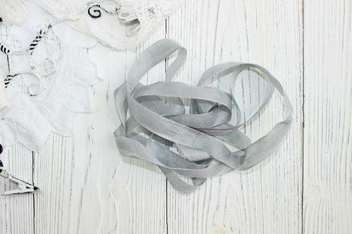 Шебби-ленты серый