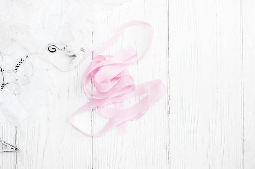 Шебби-ленты ярко-розовый