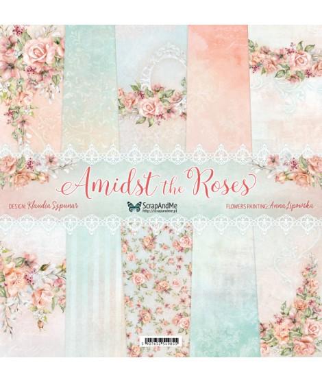 Набор бумаги 12х12 Amidst the Roses от ScrapAndMe
