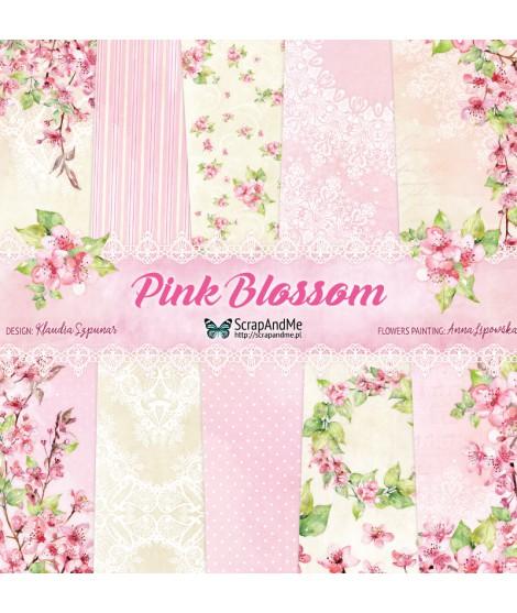 Набор бумаги 12х12 Pink Blossom от ScrapAndMe