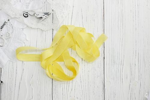 Шебби-ленты Желтый
